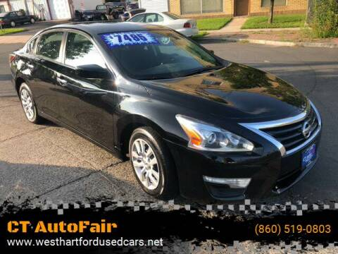 2014 Nissan Altima for sale at CT AutoFair in West Hartford CT