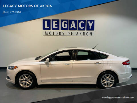 2013 Ford Fusion for sale at LEGACY MOTORS OF AKRON in Akron OH