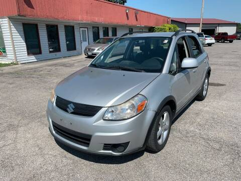 2008 Suzuki SX4 Crossover for sale at Best Buy Auto Sales in Murphysboro IL