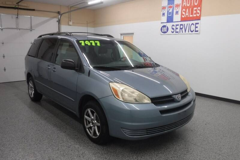 2008 Toyota Sienna for sale at 777 Auto Sales and Service in Tacoma WA