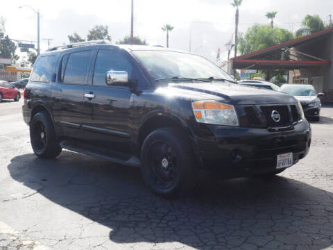 2008 Nissan Armada for sale at Corona Auto Wholesale in Corona CA