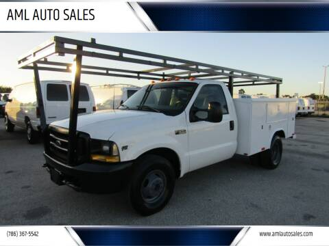 2000 Ford F-350 Super Duty for sale at AML AUTO SALES - Utility Trucks in Opa-Locka FL