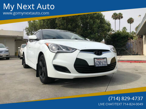 2013 Hyundai Veloster for sale at My Next Auto in Anaheim CA