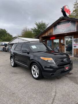2013 Ford Explorer for sale at LEE AUTO SALES in McAlester OK