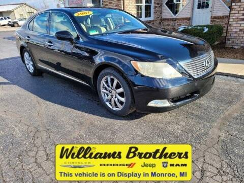 2007 Lexus LS 460 for sale at Williams Brothers - Pre-Owned Monroe in Monroe MI