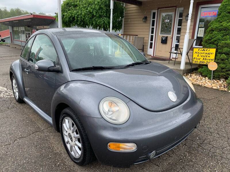 2005 Volkswagen Beetle for sale at G & G Auto Sales in Steubenville OH