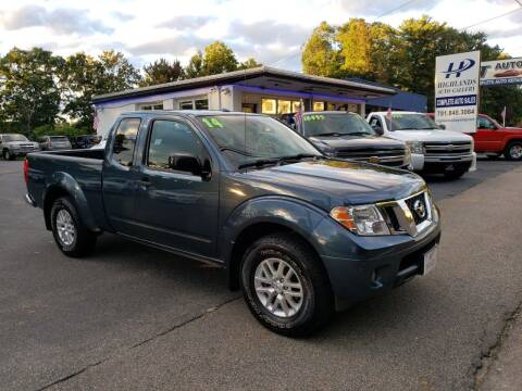 2014 Nissan Frontier for sale at Highlands Auto Gallery in Braintree MA