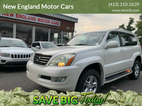 2005 Lexus GX 470 for sale at New England Motor Cars in Springfield MA