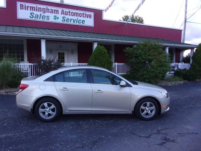 2014 Chevrolet Cruze for sale at Birmingham Automotive in Birmingham OH