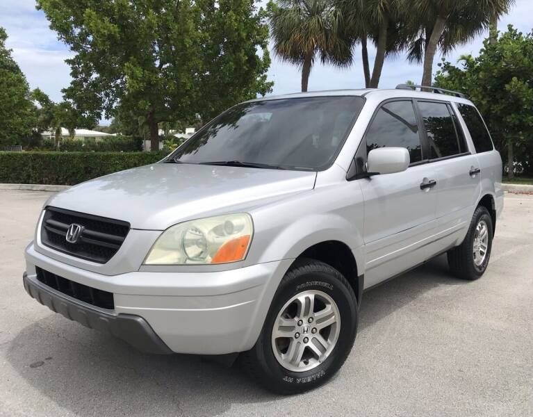 2003 Honda Pilot for sale at FIRST FLORIDA MOTOR SPORTS in Pompano Beach FL