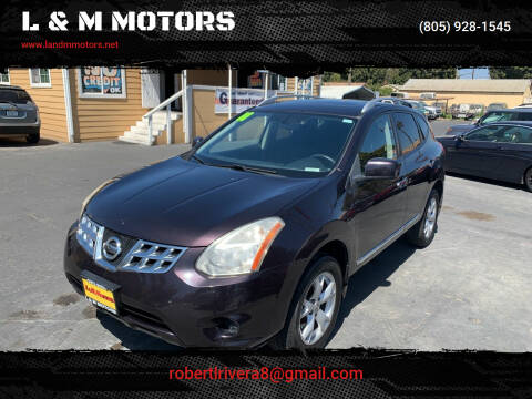 2011 Nissan Rogue for sale at L & M MOTORS in Santa Maria CA