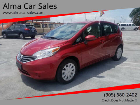 2015 Nissan Versa Note for sale at Alma Car Sales in Miami FL