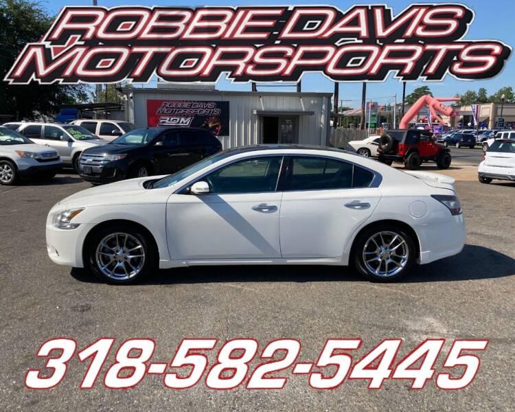 2012 Nissan Maxima for sale at Robbie Davis Motorsports in Monroe LA