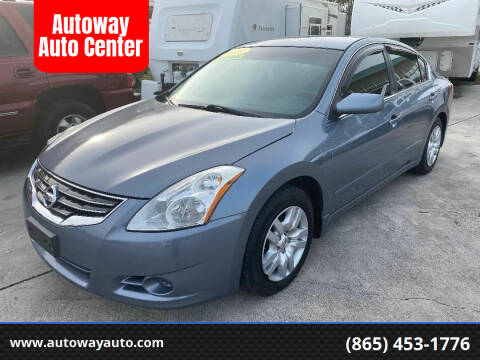 2010 Nissan Altima for sale at Autoway Auto Center in Sevierville TN