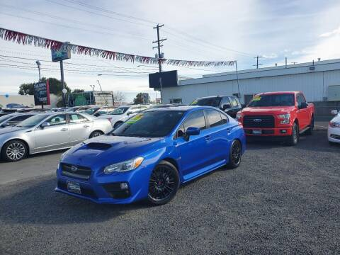 2017 Subaru WRX for sale at Yaktown Motors in Union Gap WA