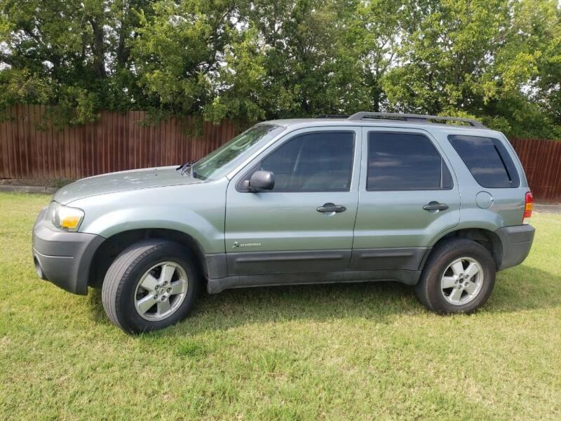 2007 Ford Escape Hybrid for sale at El Jasho Motors in Grand Prairie TX