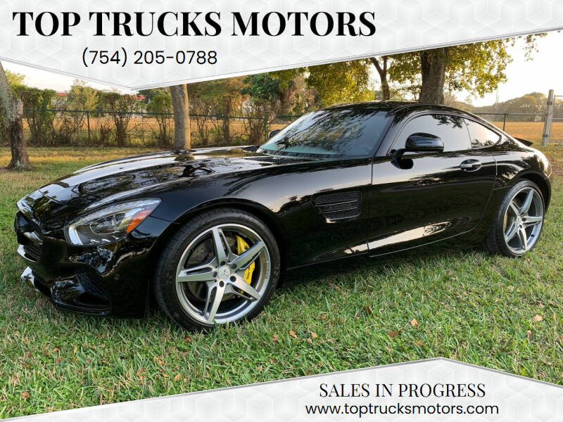 2017 Mercedes-Benz AMG GT for sale at Top Trucks Motors in Pompano Beach FL