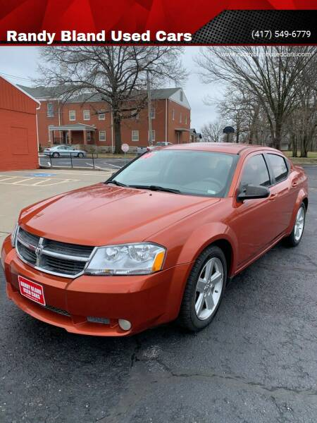 2008 Dodge Avenger for sale at Randy Bland Used Cars in Nevada MO
