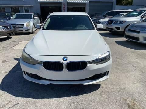 2015 BMW 3 Series for sale at America Auto Wholesale Inc in Miami FL