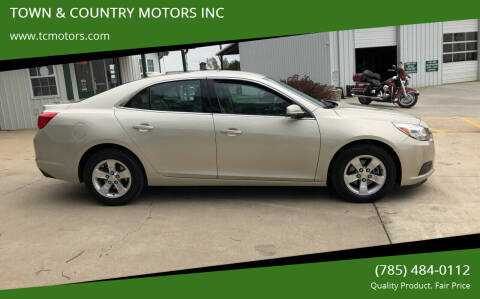 2015 Chevrolet Malibu for sale at Town & Country Motors Inc. in Meriden KS