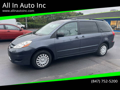 2006 Toyota Sienna for sale at All In Auto Inc in Palatine IL