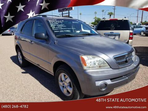 2006 Kia Sorento for sale at 48TH STATE AUTOMOTIVE in Mesa AZ