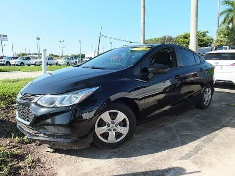 2017 Chevrolet Cruze for sale at Automotive Credit Union Services in West Palm Beach FL
