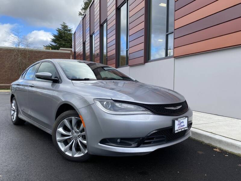 2015 Chrysler 200 for sale at DAILY DEALS AUTO SALES in Seattle WA
