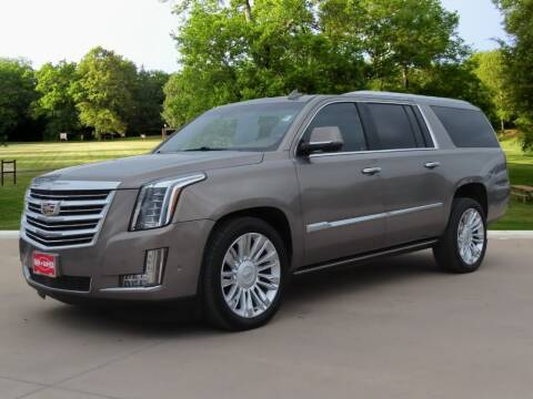 2017 Cadillac Escalade ESV for sale at Ron Carter  Clear Lake Used Cars in Houston TX