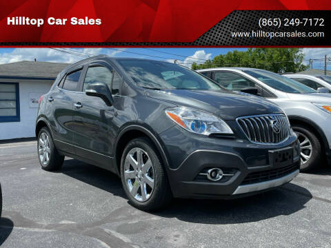 2016 Buick Encore for sale at Hilltop Car Sales in Knoxville TN