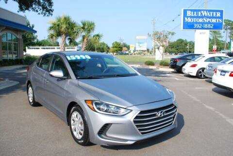 2017 Hyundai Elantra for sale at BlueWater MotorSports in Wilmington NC