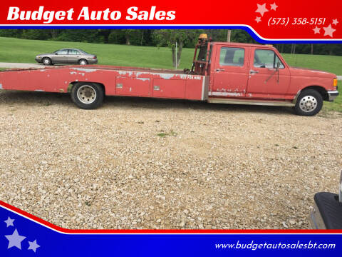 1989 Ford F-350 for sale at Budget Auto Sales in Bonne Terre MO