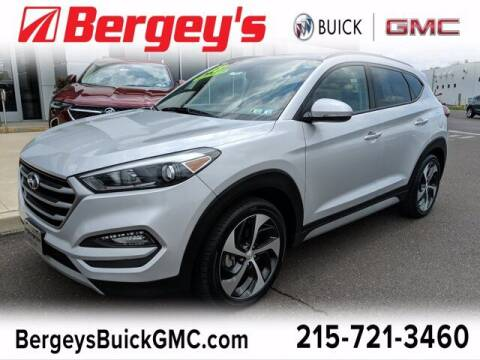 2018 Hyundai Tucson for sale at Bergey's Buick GMC in Souderton PA