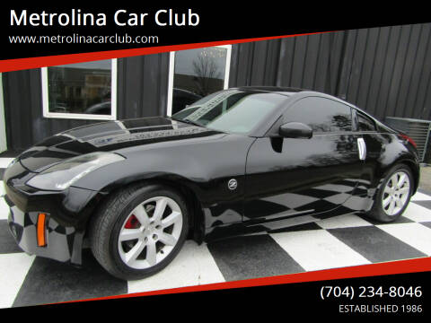 2003 Nissan 350Z for sale at Metrolina Car Club in Matthews NC