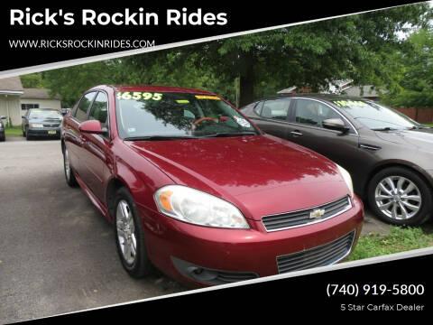2010 Chevrolet Impala for sale at Rick's Rockin Rides in Reynoldsburg OH
