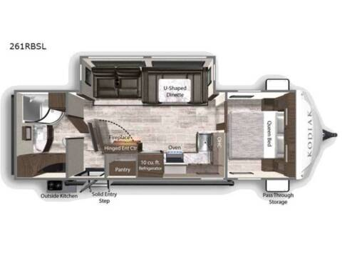 2022 KODIAK ULTRA LITE 261RBSL for sale at Frontier RV Sales in Anchorage AK