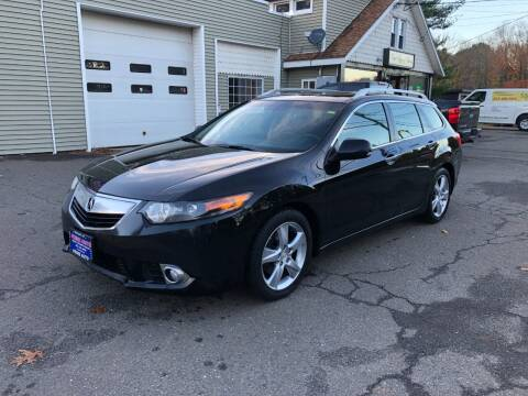 2012 Acura TSX Sport Wagon for sale at Prime Auto LLC in Bethany CT