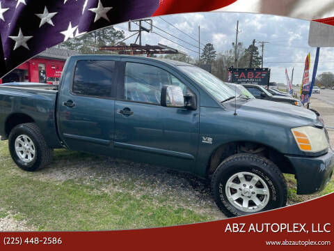 2004 Nissan Titan for sale at ABZ Autoplex, LLC in Baton Rouge LA