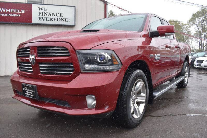 2014 RAM Ram Pickup 1500 for sale at Dealswithwheels in Inver Grove Heights MN