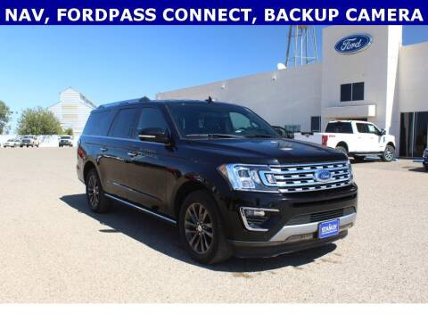 2019 Ford Expedition MAX for sale at STANLEY FORD ANDREWS in Andrews TX