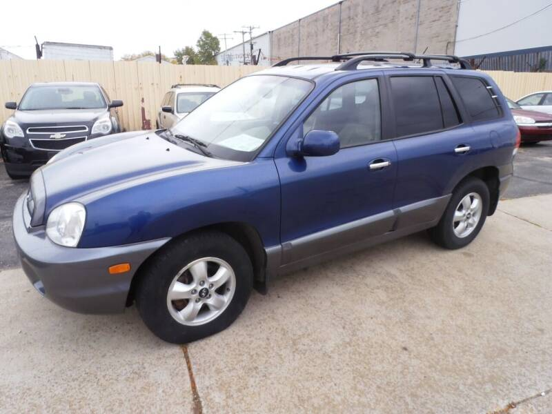 2006 Hyundai Santa Fe for sale at A-Auto Luxury Motorsports in Milwaukee WI