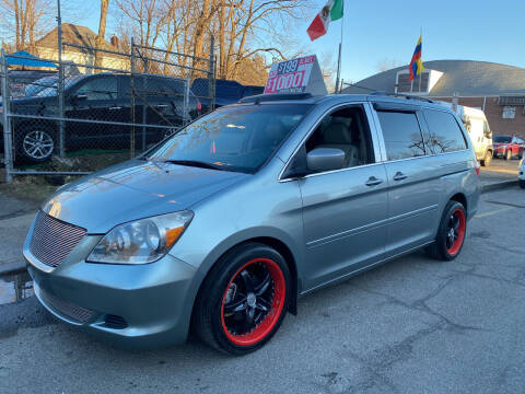 2007 Honda Odyssey for sale at White River Auto Sales in New Rochelle NY