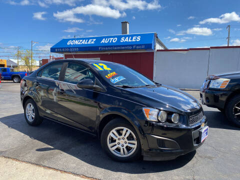 2012 Chevrolet Sonic for sale at Gonzalez Auto Sales in Joliet IL