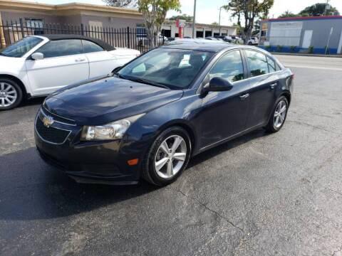 2014 Chevrolet Cruze for sale at KK Car Co Inc in Lake Worth FL