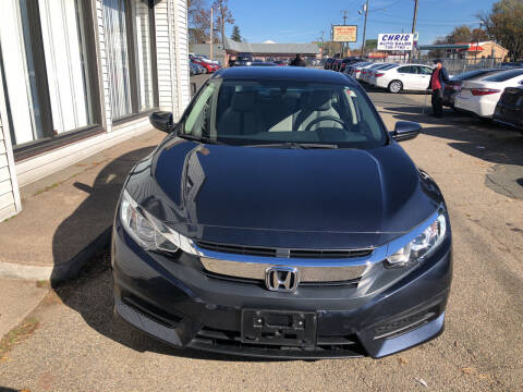 2017 Honda Civic for sale at Chris Auto Sales in Springfield MA