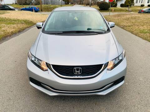 2015 Honda Civic for sale at Via Roma Auto Sales in Columbus OH