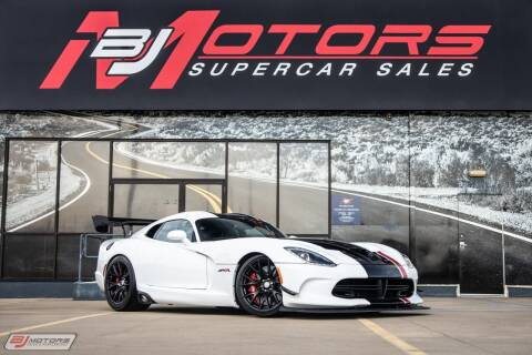 2016 Dodge Viper for sale at BJ Motors in Tomball TX