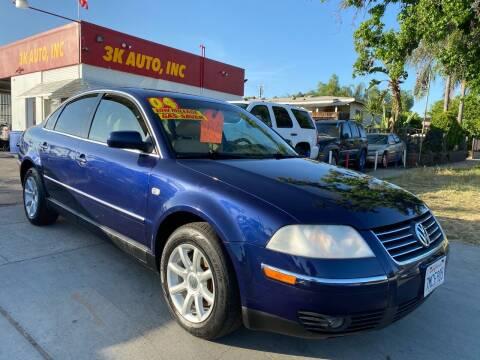 2004 Volkswagen Passat for sale at 3K Auto in Escondido CA