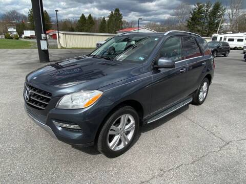 2015 Mercedes-Benz M-Class for sale at Alexandria Auto Mart LLC in Alexandria PA