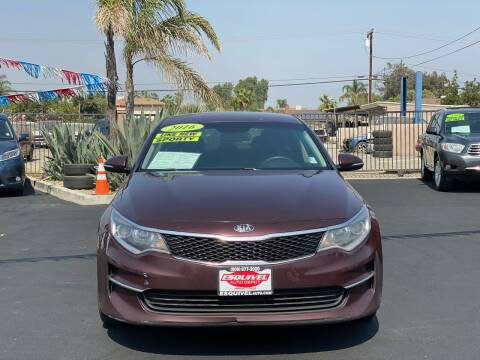 2016 Kia Optima for sale at Esquivel Auto Depot in Rialto CA
